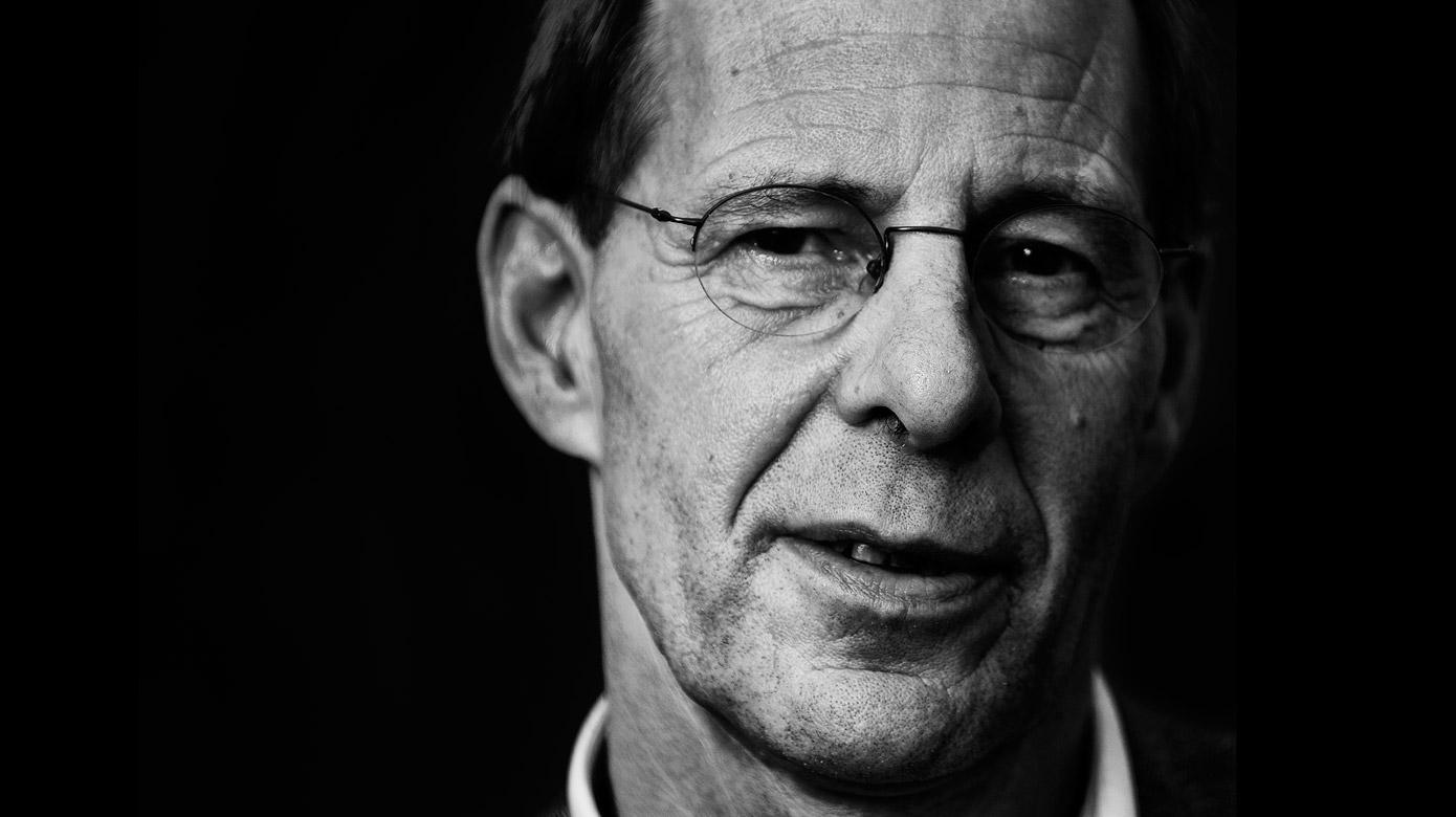 Uit de serie 'Stemmen die tot de verbeelding spreken': Radiopresentator Govert van Brakel
